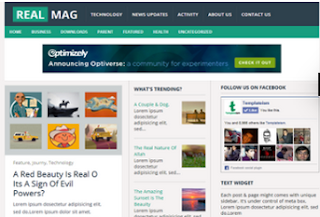 Real Mag - Responsive SEO Blogger Template