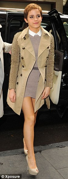 32fb4112c9 Alexa Chung. Emma Watson. Fearne Cotton. I loved the long sleeved Prada Peter  Pan collar dress ...