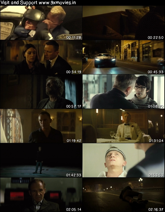 Spectre 2015 Dual Audio Hindi 720p BluRay 1.1GB