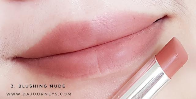 Review Wardah Intense Matte Lipstick Blushing Nude