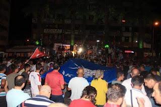 فرحة شعب تركيا