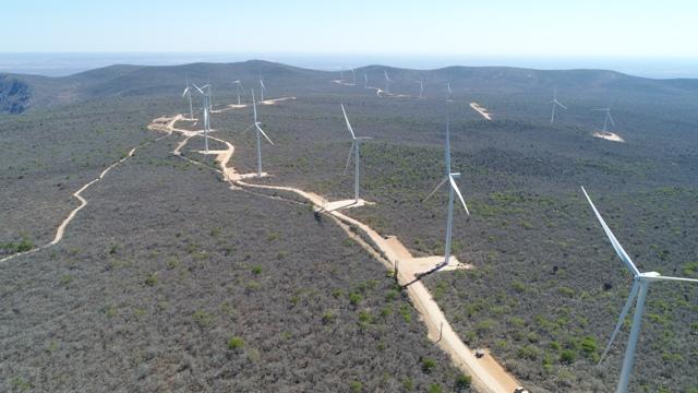 Novos parques entram em operação comercial no Conjunto Eólico Umburanas
