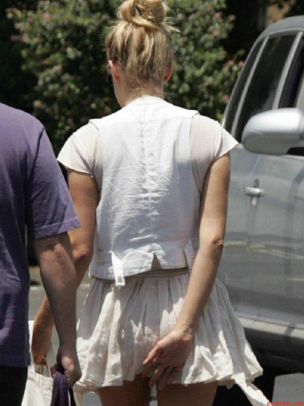 Panties in public