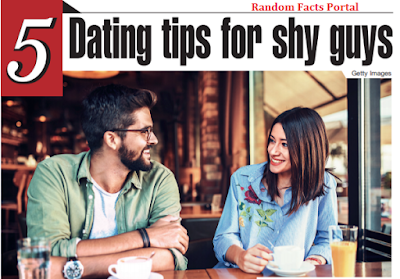 5 Dating tips for shy guys