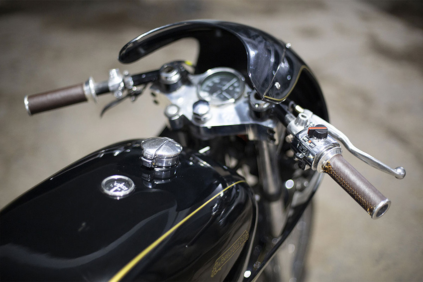 Cafe Racer kit para Royal Enfield