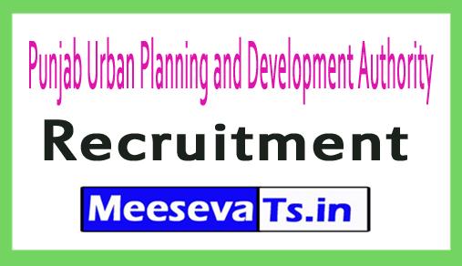 Punjab Urban Planning and Development Authority PUAD Recruitment