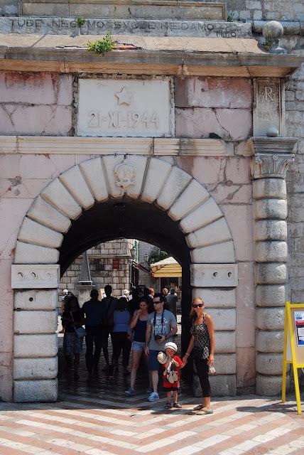 porte entrée Kotor