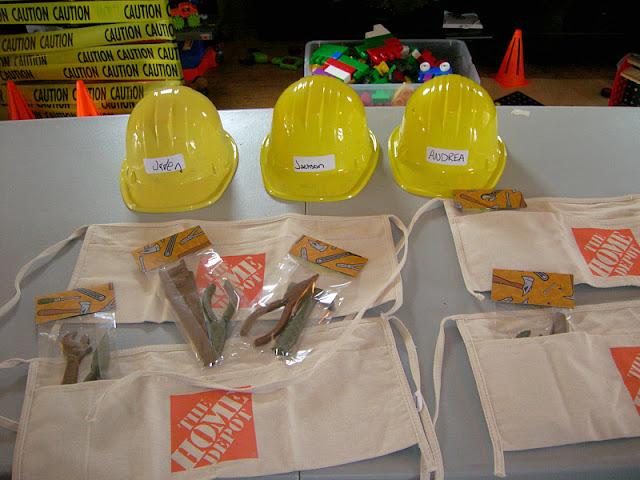 construction party favors