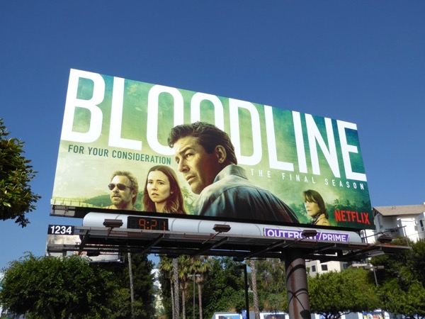 Bloodline season 3 billboard