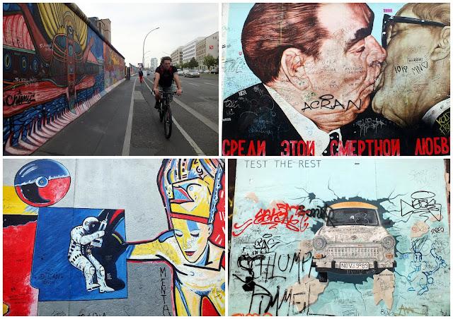 imágenes del muro de Berlín