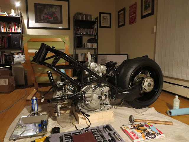 Ducati 916 Living Room Rebuild