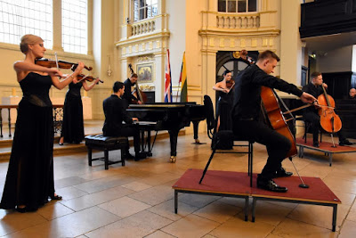 Gedminas Gelgotas and New Ideas Chamber Orchestra at the church of St Martin's in the Fields, London 2017