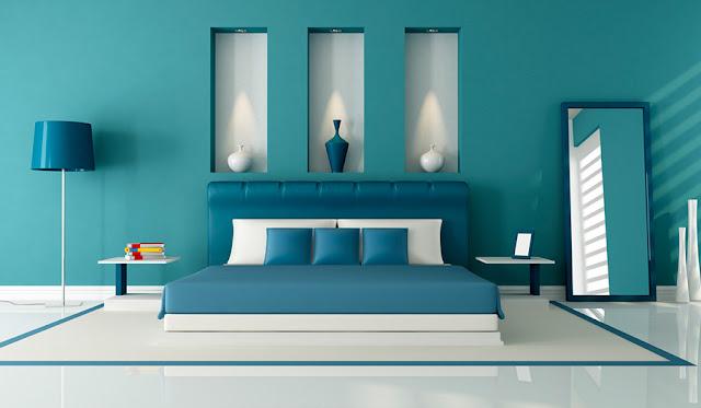 couleur chambre bleu
