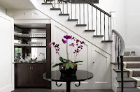 Ideas para ahorrar espacio debajo de la escalera copas