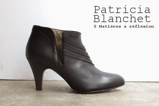 Bottines noires Patricia Blanchet Igor : black is black !