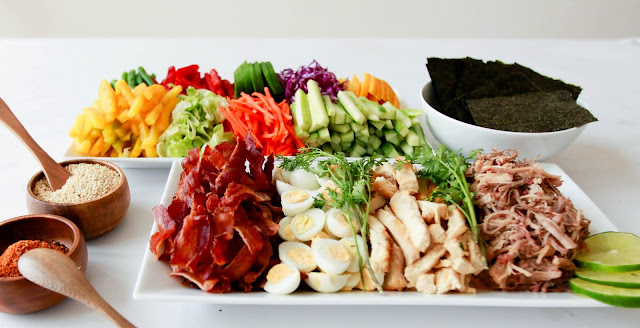 Nori Wrap and Roll Platter