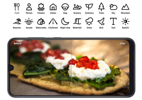 Samsung Galaxy A50 - Foto Seperti dibantu Profesional