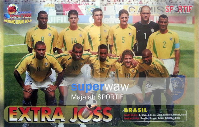 Soccer Team Brasil 2002