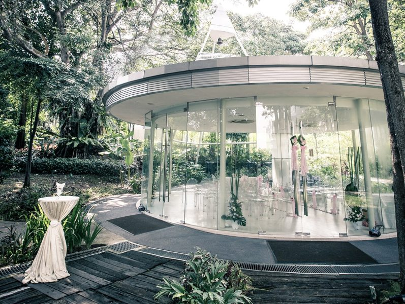 venuerific singapore glass pavillion wedding event venue