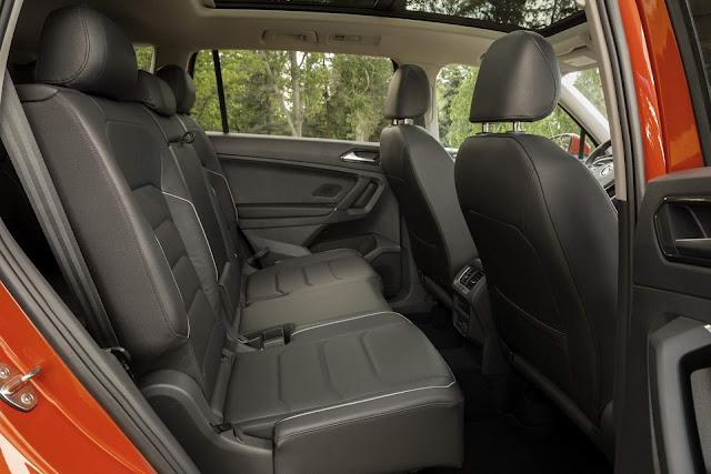 Novo VW Tiguan 2018 - interior