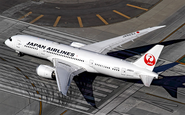 787-8 japan airlines