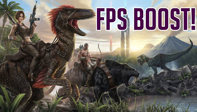 Ark survival evolved fps boost