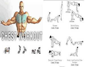 best male chest workout at home and gym