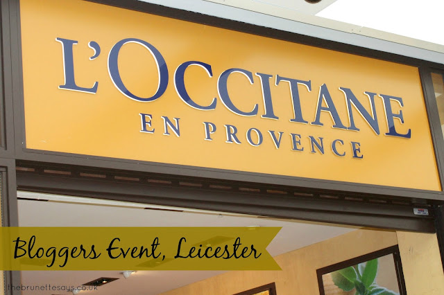 L'occitane, beauty, leicester, bloggers event