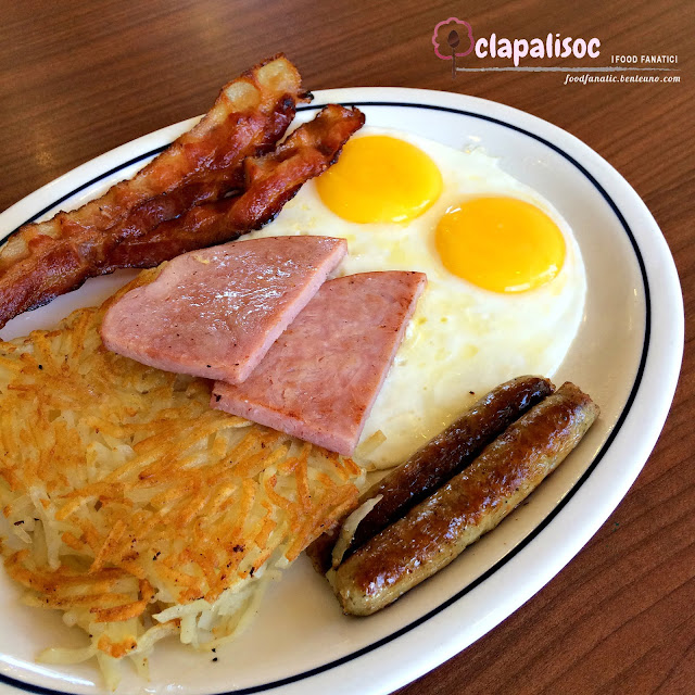 IHOP Philippines Breakfast Sampler