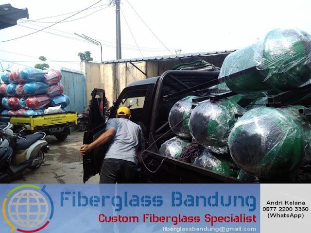 pengiriman tempat sampah fiber via gobox