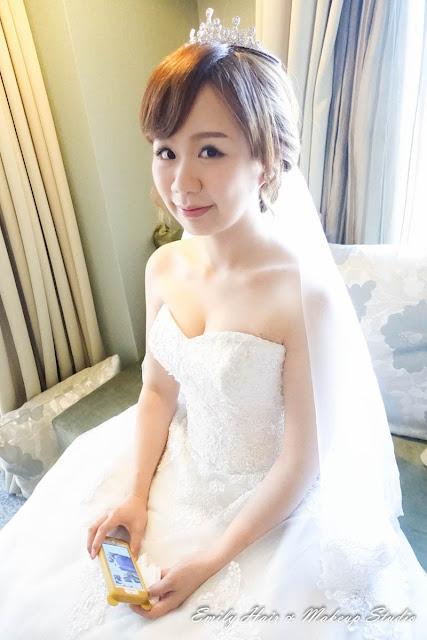 新娘白紗髮型迎娶造型