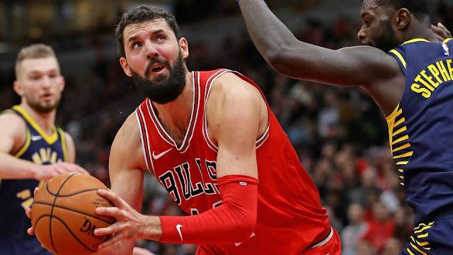 Bulls Melakukan Trade Nikola Mirotic ke Pelicans