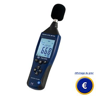 Jual Sound Level Meter PCE-322A (Alat Ukur Kebisingan Suara ) Telp 0812-8222-998