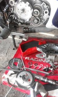 Gambar bahagian clutch Yamaha 125z