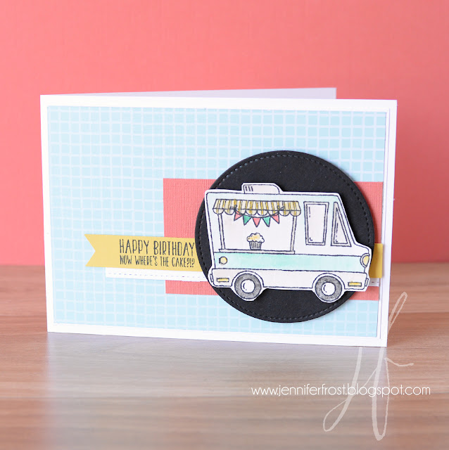 Sale-a-bration, Tasty Trucks, Tasty Treats, Birthday Card by Jennifer Frost Australia