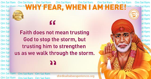 Shirdi Sai Baba Blessings - Experiences Part 2536