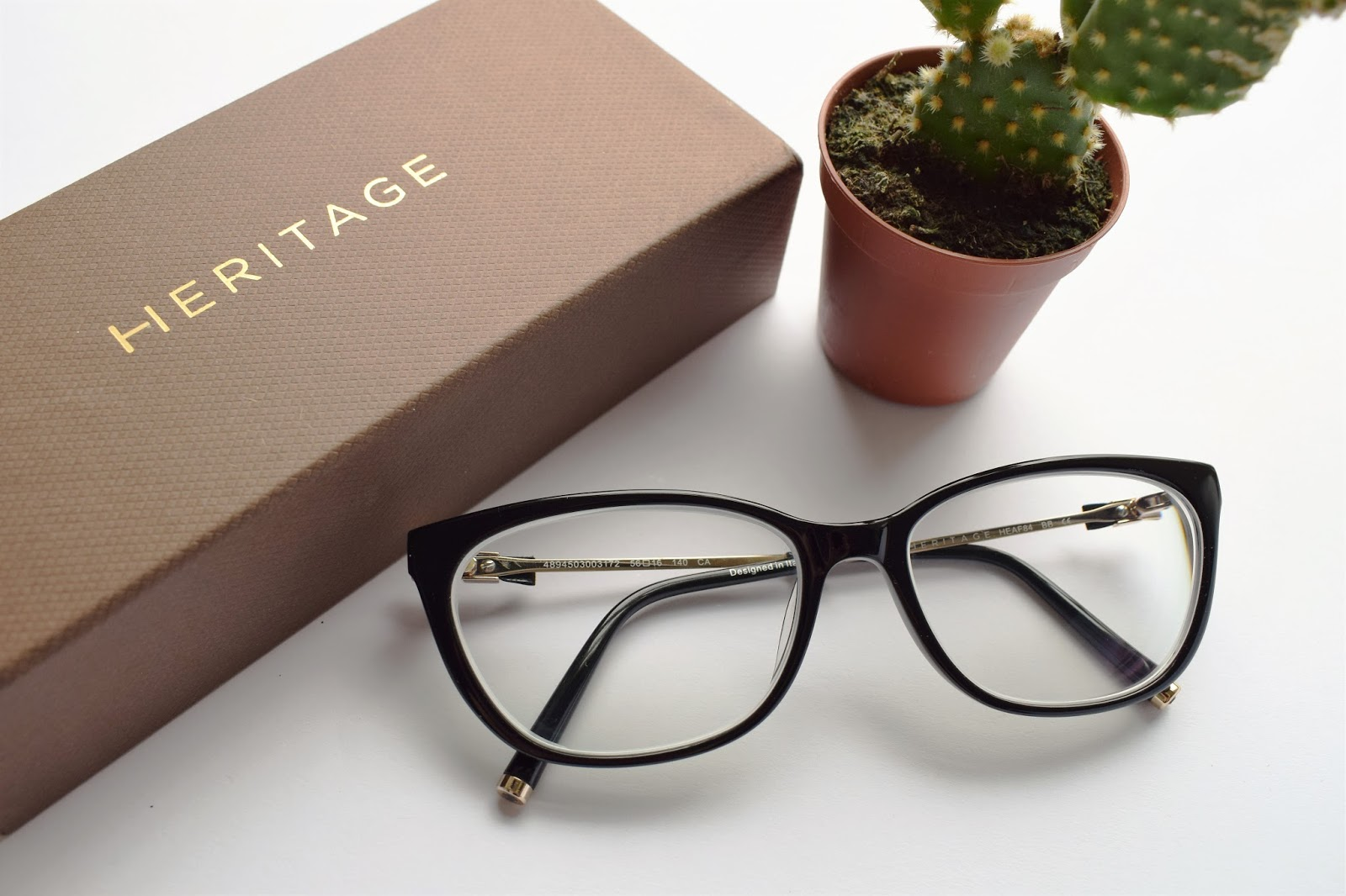 Vision Express, Heritage range glasses, exclusive brands at Vision Express, Chanel glasses dupe, cactus,