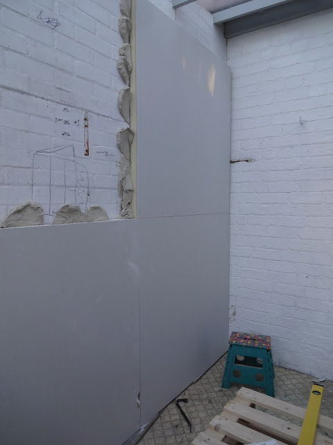 celotex insulating plasterboard in conservatory