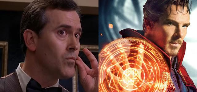 Bruce Campbell traz atualizações sobre 'Doutor Estranho: No Multiverso da Loucura'