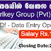 Vacancy For Sri Lanka.  Post Of - Data Entry Operator