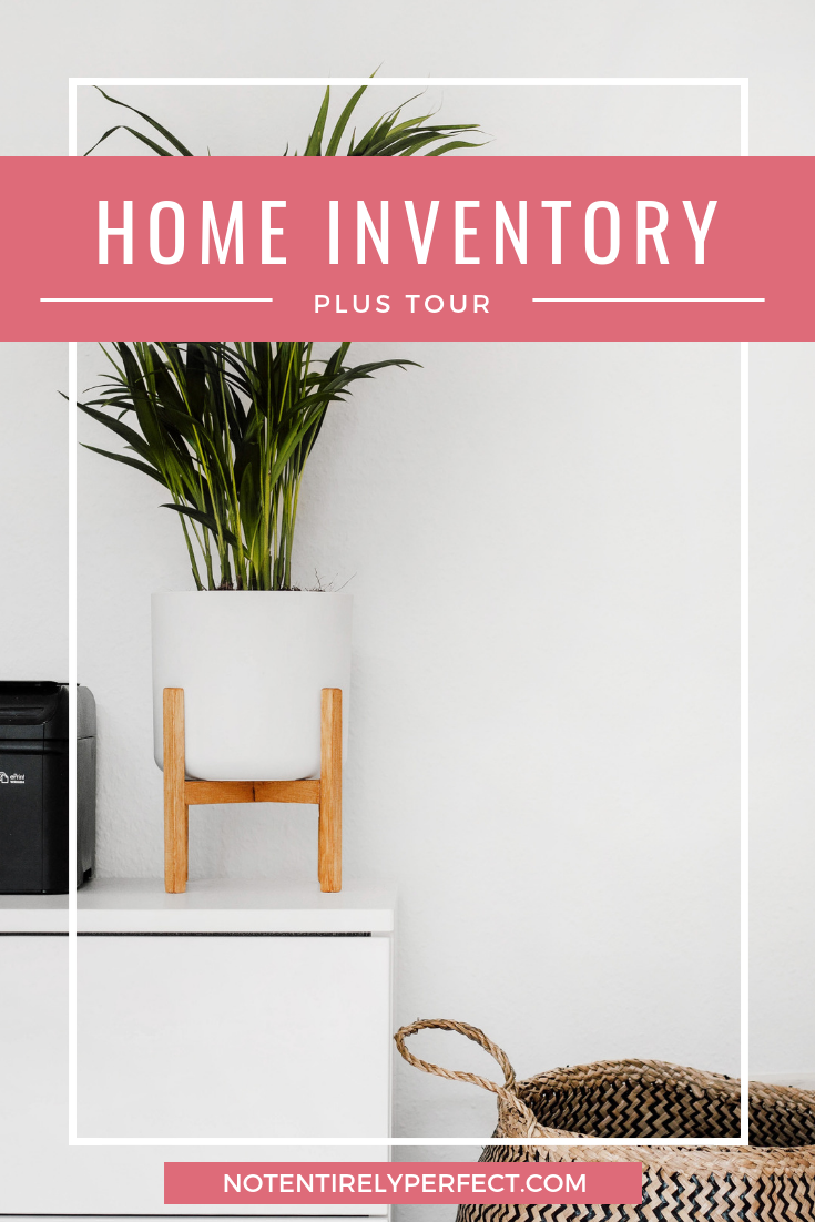 Full Home Inventory (Plus a House Tour)