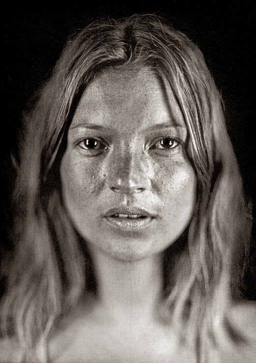 Chuck Close Daguerreotype Photography Kate Moss