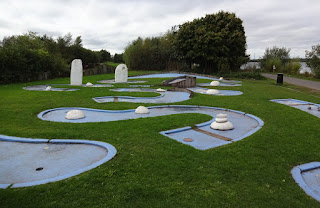 Crazy Golf course at Chasewater Country Park