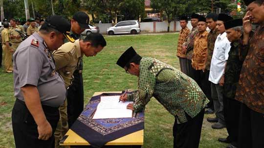 empat desa di indramayu lakanakan pemilhan kuwu serentak