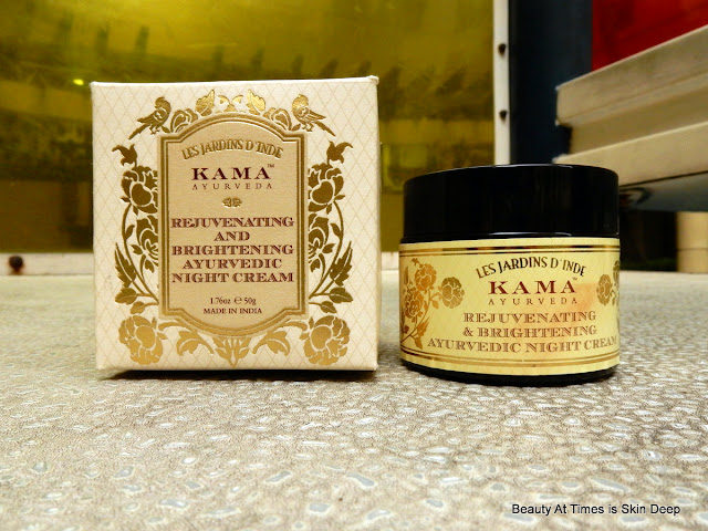 Kama Rejuvenating and Brightening Ayurvedic Night Cream