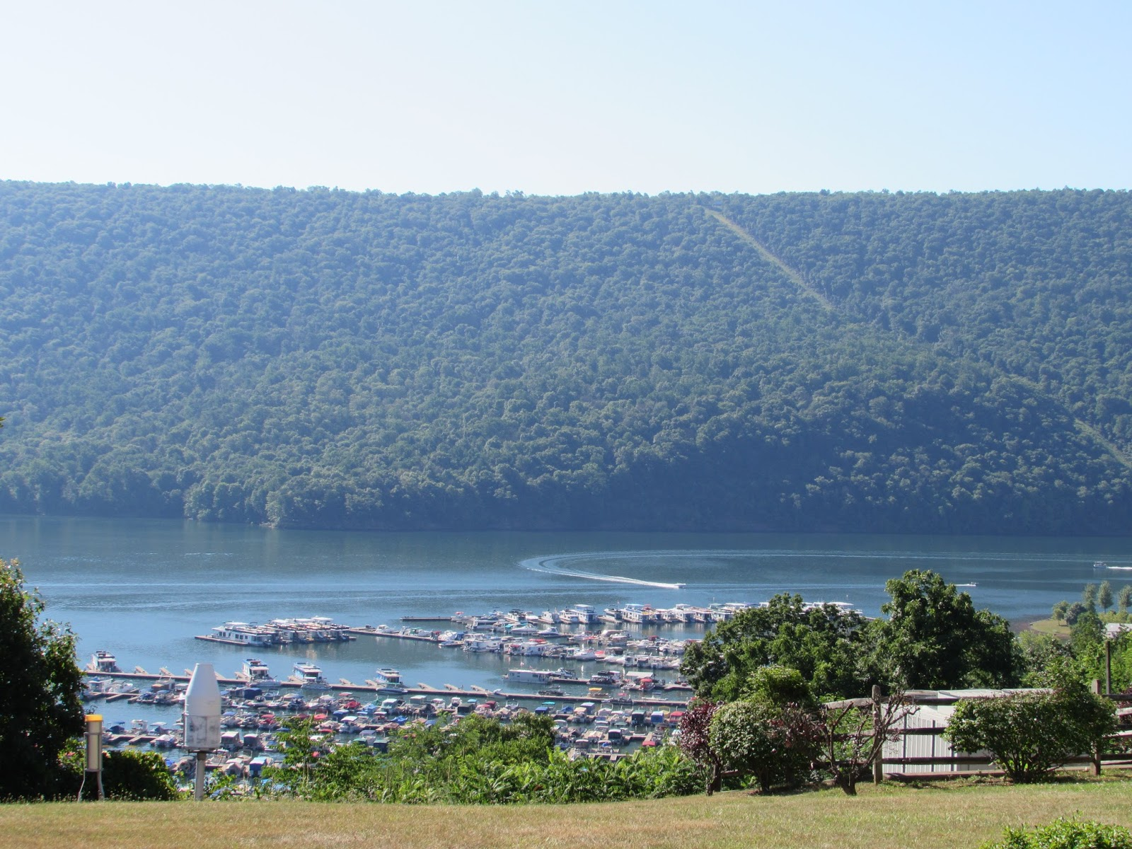 Raystown Lake Visitor Center And Allegrippis Mountain Biking Trails