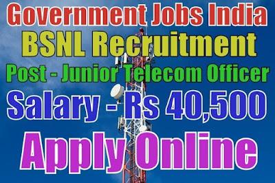 Bharat Sanchar Nigam Limited BSNL Recruitment 2017