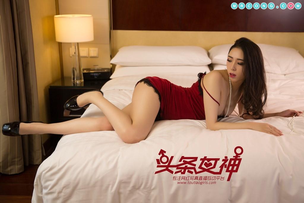 Image TouTiao-2018-01-07-Wen-Xue-MrCong.com-008 in post TouTiao 2018-01-07: Người mẫu Wen Xue (文雪) (25 ảnh)
