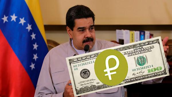 Fraude: El Petro no se puede comprar con bolívares