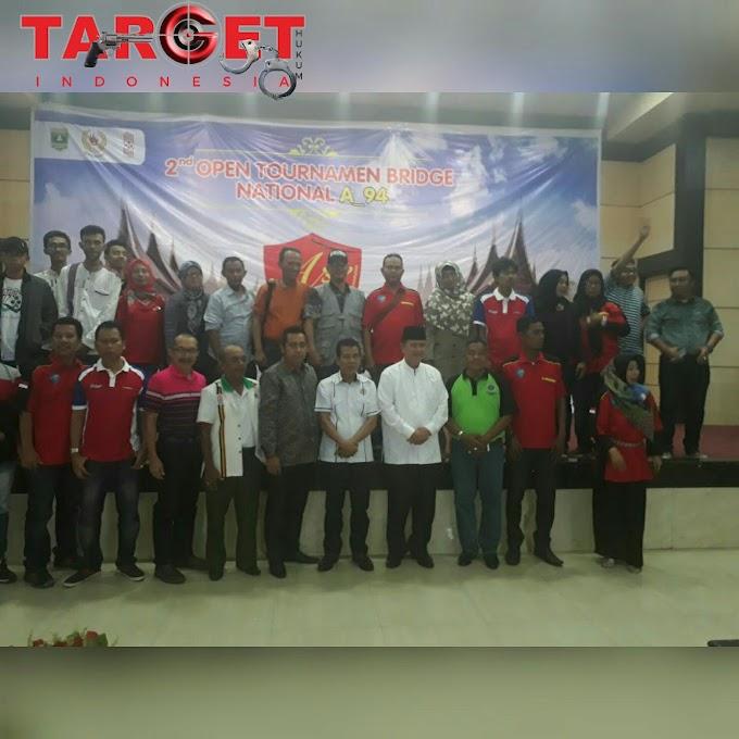 Wagub Nasrul Abit Buka 2nd Open Turnamen Bridge A-94